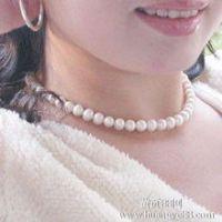义乌手工穿珠加工珍珠项链加工办厂 免费培训 包上门回收 -