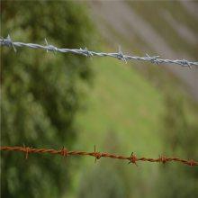 旺来刺绳围栏 铁刺线 防盗刺绳价格