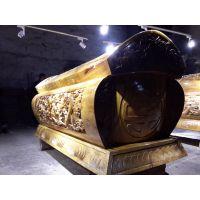 供应北斗七星风水棺材 800年金丝楠木古树制作,整根挖圆 楠木世家出品