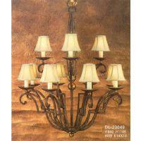 特别推荐美式家居客厅吊灯精美豪华水晶灯精致全铜吊灯