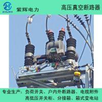 供应10KV柱上农网改造用ZW32-12真空断路器 紫辉ZW32-12F户外真空断路器
