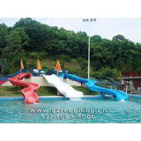 水上游乐设施 玻璃钢滑梯 组合滑梯 人工海啸池 滑板冲浪 儿童水上乐园设备