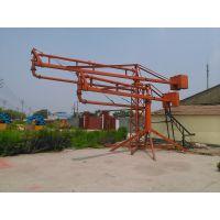 安顺郑科12型混凝土输送泵配套用布料机旋转灵活
