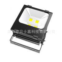 厂家直销 LED 鳍片散热 大功率 集成投光灯 100W 泛光灯 过CE PSE