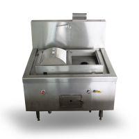不锈钢双格肠粉炉 节能双头肠粉蒸炉 商用厨房设备 布拉肠粉炉