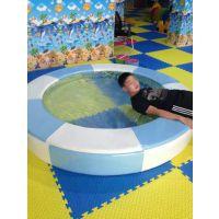 新型电动淘气堡厂家--室内淘气堡儿童乐园户外拓展水床