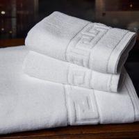 酒店宾馆客房白色毛巾浴巾定做