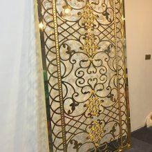 村庄豪华豪华不锈钢大门装饰 订做生产非标不锈钢大门