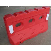 三孔塑料水马 市政施工围栏水马 鹏翔瑞分道隔离栏