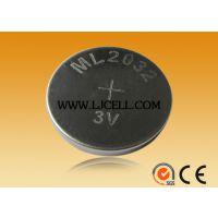 ML2032-T6 可加工焊脚 3v可充电纽扣电池 ML2032正品保证