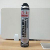 立封聚氨酯泡沫填缝剂 门窗工程50倍膨胀保温型枪式聚氨酯发泡剂