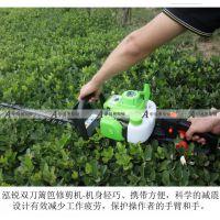 Ht230泓锐绿篱机双刀篱笆修枝剪茶树修剪机厂家直销