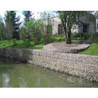 新疆河道堤防加固格宾石笼|护坡工程铅丝石笼|定制格宾网箱