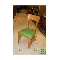 深圳餐厅 快餐店餐椅 咖啡店休闲餐椅,水曲柳实木椅 运达来定制