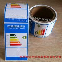 深圳优质电冰箱标识标签,彩色中国能效标识,厨房冰箱彩色标签,电器标签