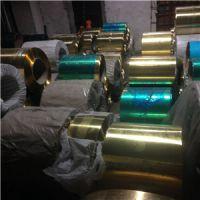 软态C2680黄铜拉伸带/高精环保H65黄铜带母料分条