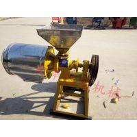 【厂家直销】电动小型磨面机 小麦磨坊磨面机 面粉加工设备 信达