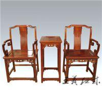 山东济宁缅甸花梨古典实木玫瑰椅王义红木家具精品