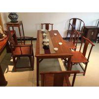 成都新中式功夫茶台桌、成都中式茶台定制、成都明清古典中式茶台桌定制