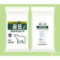 厂家直营 韩国熊牌面粉 特级制面用面粉 20kg 熊标