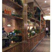 醉碟花餐厅折叠橡胶木餐桌椅组合现代风格简约餐桌创意桌子