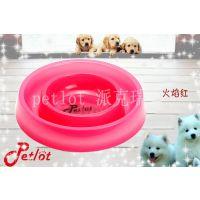 厂家供应优质彩色宠物碗狗碗单碗