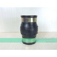 上海卡箍式橡胶接头 KKT型DN65上海卡箍式橡胶接头质保三年
