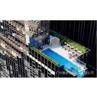 屋顶泳池设计 室外泳池设计公司 品牌 法国戴高乐