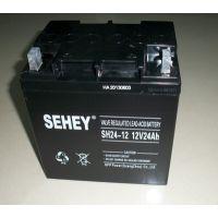 西力蓄电池 SH24-12 西力蓄电池12V24AH 铅酸免维护UPS蓄电池原装