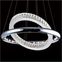 酒店餐厅不锈钢水晶吊灯 led楼梯时创尚意水晶吊灯 客厅卧室水晶灯 卡骐灯饰照明