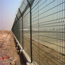 道路隔离栅 双边护栏网 港口码头隔离栏