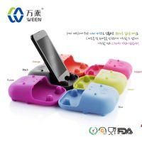 畅销手机配件 河马扩音器 手机通用扩音器 硅胶制品 懒人用品