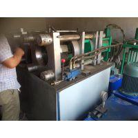 橡胶管压管机
