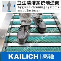 工业级:强力滚筒刷、鞋底清洁机不锈钢304制造