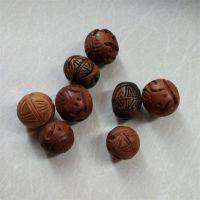 散珠优质木珠荷木珠子