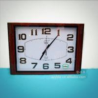 供应【三五5146挂钟】 石英钟 客厅钟 书房钟  家居墙上电子钟表