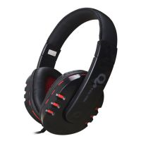 TCL E-208X游戏耳机 头戴式电脑游戏耳麦语音带麦克风 网吧耳机