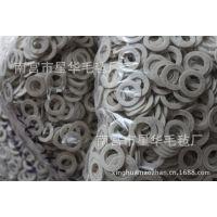 免费拿样按图纸订做羊毛毡垫 工业密封垫异型毛毡垫 羊毛垫圈