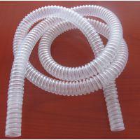 透明医用呼吸POE螺旋缠绕软小管移动肺保软管Transparent medical hose