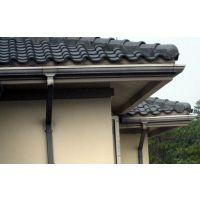 安赛白色pvc5.2英寸檐槽天沟集成排水管塑料方形86*63mm落水管雨水管13805764514