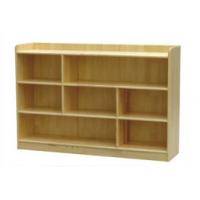 供应华蓥幼儿园书架书包柜松木原材