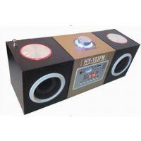 热销插卡小音响 木质音箱