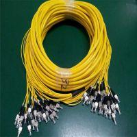 直供深圳耐斯龙1.1米LC型室内12芯多模束状跳线 阻燃跳线 可定制