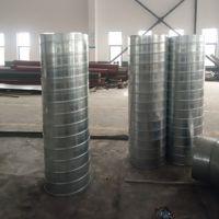 安琪尔镀锌圆风管中央空调出风口排风系统工程碳钢螺旋风管厂家直供