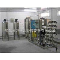 纯水设备设计供应3T双级反渗透水处理设备,反渗透设备