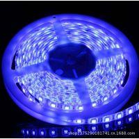厂家直销 3528 120灯蓝光LED灯带 低压12V防水灯带  批发