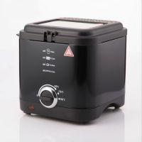 三代无油烟锅  家用1.5L电炸锅 自动恒温 多功能烧烤锅  品质保证