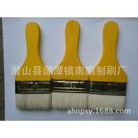 厂家直供3寸木柄柄异形羊毛刷油漆刷