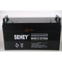 西力蓄电池SH100-12经销商
