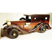 木质老爷车 做工精良、汽车模型、木制品工艺品  10寸E